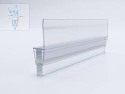 Силиконова лайсна право перо за 8мм стъкло
